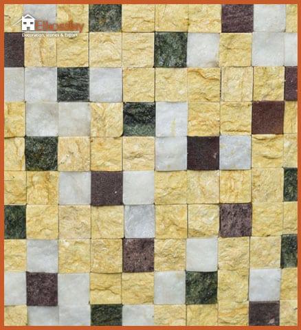 حجر طبيعي رخامي -جلاله وكراره ورملي وأخضرهندي