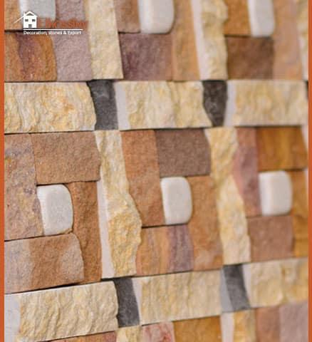 (حجر طبيعي (كرارة- ميلي براون-جلالة-رملي